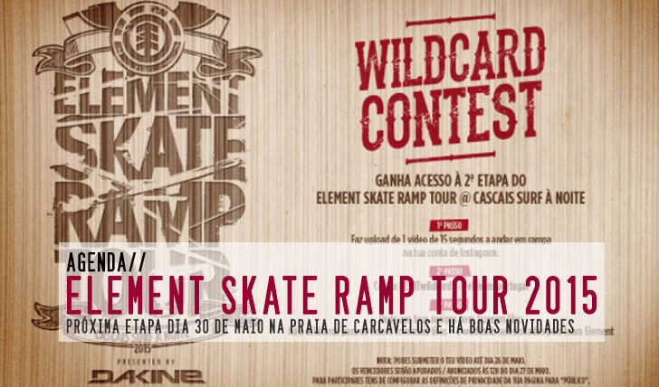 9663ELEMENT Skate Ramp Tour 2015|Praia de Carcavelos 30 de Maio