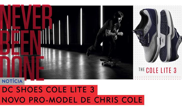 9871DC SHOES apresenta os novos Cole Lite 3