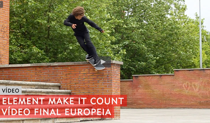 10406ELEMENT Make it Count|Vídeo final Europeia||5:46