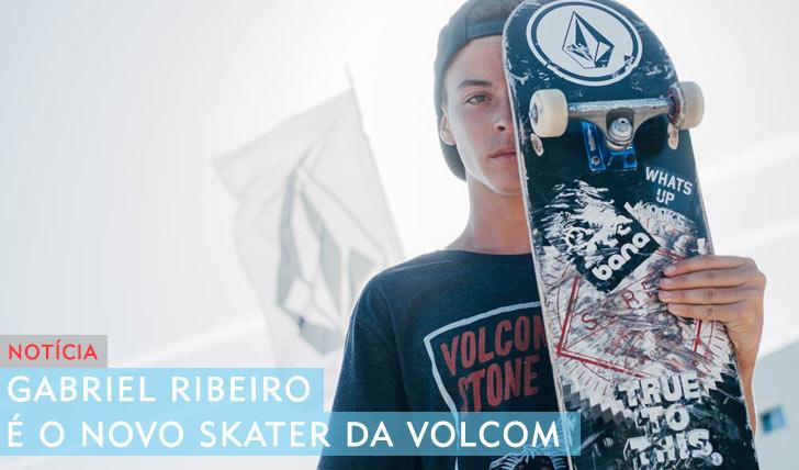 10178Gabriel Ribeiro é o novo skater da VOLCOM