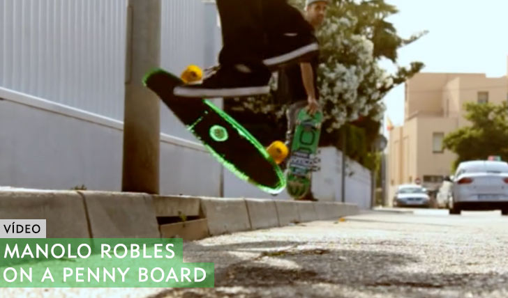 10468Manolo Robles on a Penny board||3:13