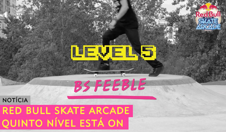 10174RED BULL Skate Arcade|Nível 5 está ON
