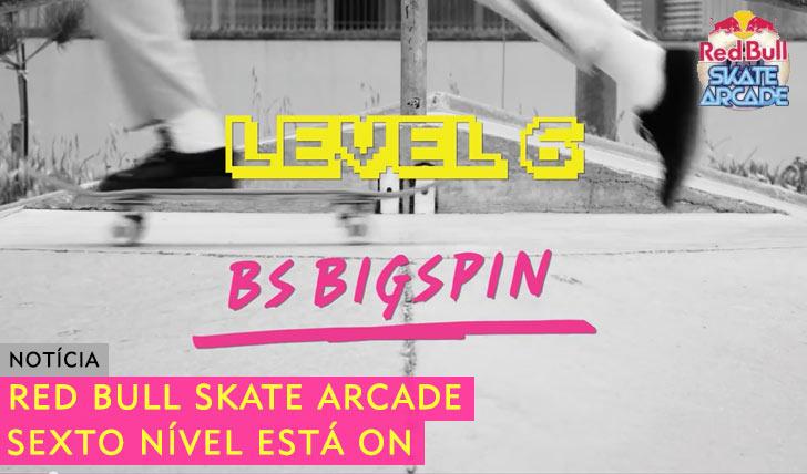 10279RED BULL Skate Arcade|Nível 6 está ON