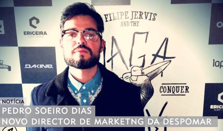 10714Pedro Soeiro Dias|Novo director de marketing da Despomar
