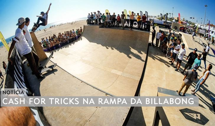 11073Cash for tricks na rampa da BILLABONG