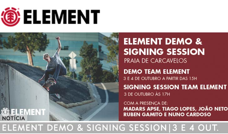 11066DEMO E SIGNING SESSION DO TEAM ELEMENT EM CARCAVELOS