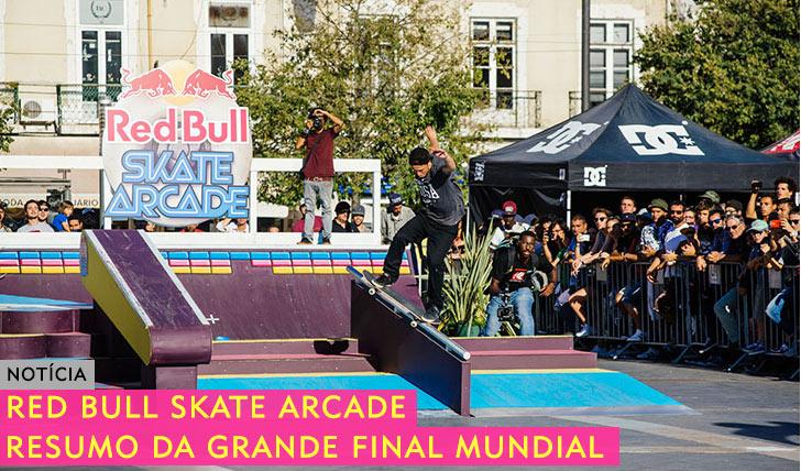 10964RED BULL Skate Arcade|Resumo da grande final em Lisboa