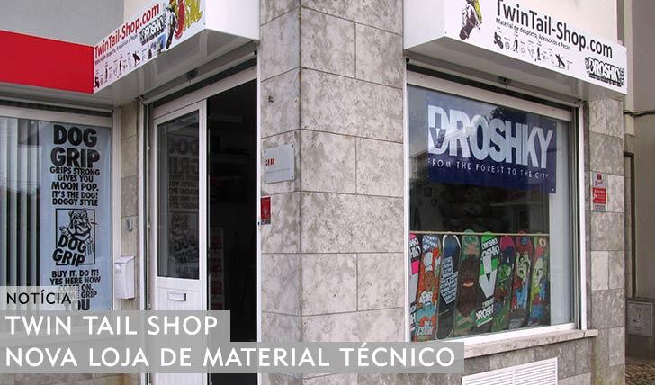 10865TWIN TAIL SHOP|Nova Loja de material Técnico em S. João do Estoril