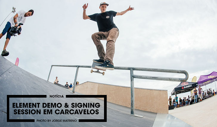 11111ELEMENT Demo & Signing Session em Carcavelos