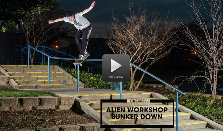 "11278ALIEN WORKSHOP ""Bunker Down""