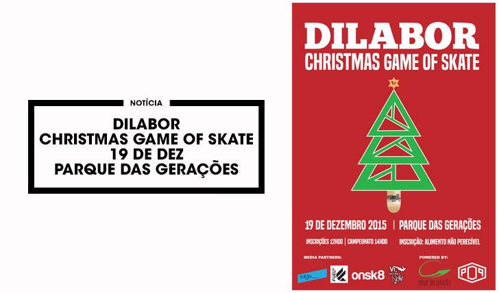 11616DILABOR Christmas Game of Skate 19 Dez. Parque das Gerações