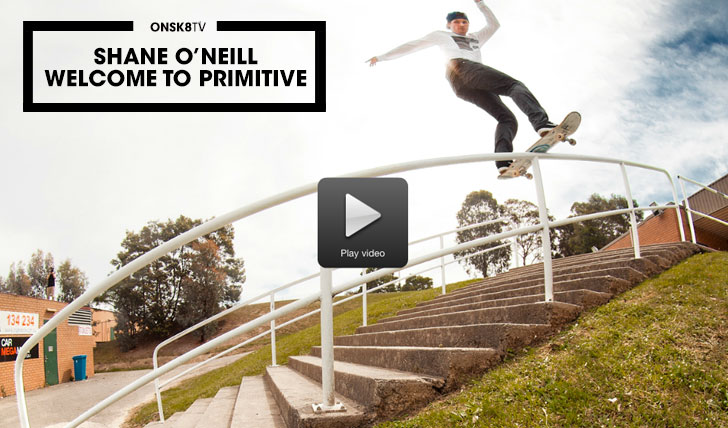 "11549Shane O'Neill""Welcome To Primitive""