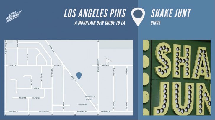 11840LOS ANGELES PINS SHAKE JUNT||11:20