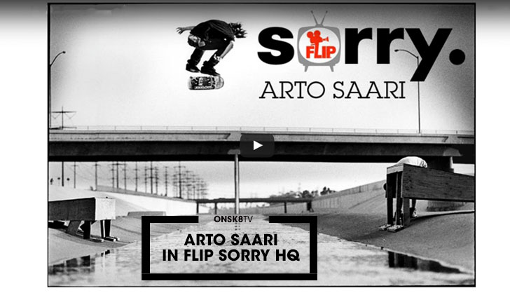 "11754ARTO SAARI in FLIP ""SORRY"" HQ