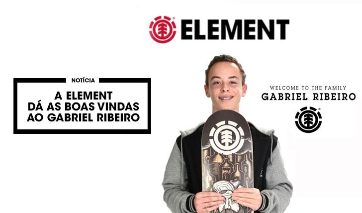 11868A ELEMENT dá as boas vindas ao Gabriel Ribeiro
