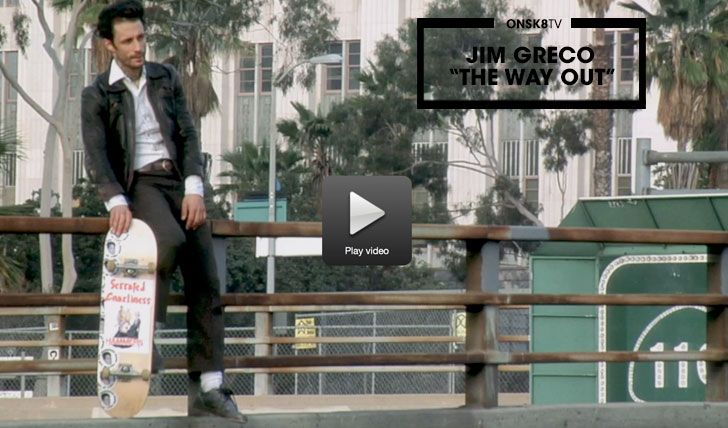 "11906Jim Greco ""The Way Out"" Film