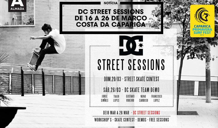 12044DC STREET SESSIONS de 18 a 26 de Março na Costa da Caparica