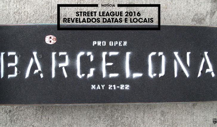 12027STREET LEAGUE 2016 Já tem datas e locais anunciados