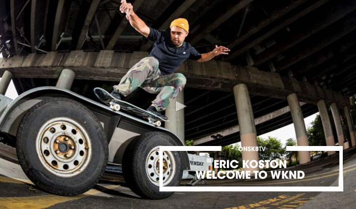 12501ERIC KOSTON WELCOME TO WKND||2:34