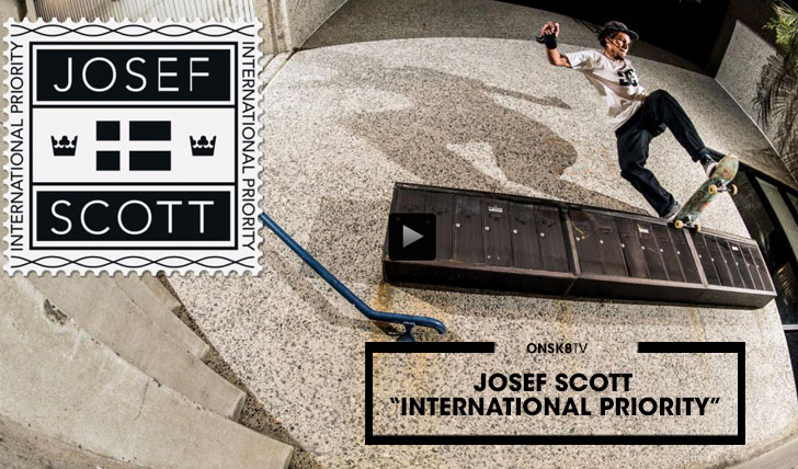 "13256Josef Scott""International Priority""