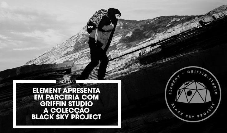 13732Element apresenta coleção em colaboração com a Griffin: The Black Sky Project