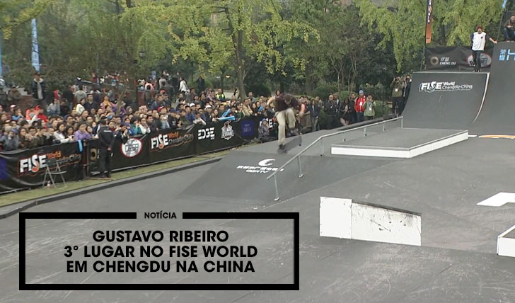 13879Gustavo Ribeiro 3ª classificado no FISE World na China