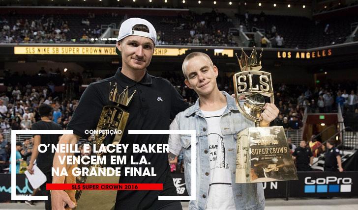 13630Shane O'neill e Lacey Baker são os grandes vencedores da SLS Super Crown