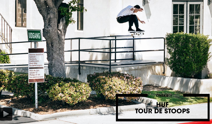 "13921HUF ""Tour de Stoops""