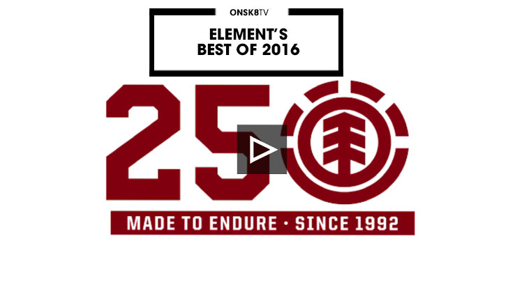 14062ELEMENT'S BEST OF 2016||5:35