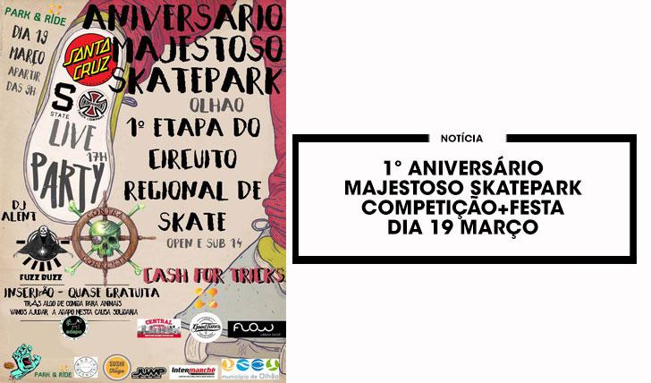 144041º Aniversário Majestoso Skatepark  19 Março