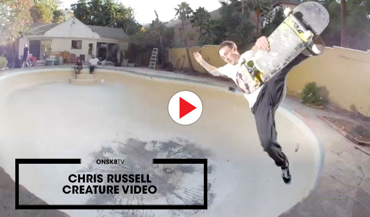 """14739Chris Russell """"Creature Video""""  3:54"""