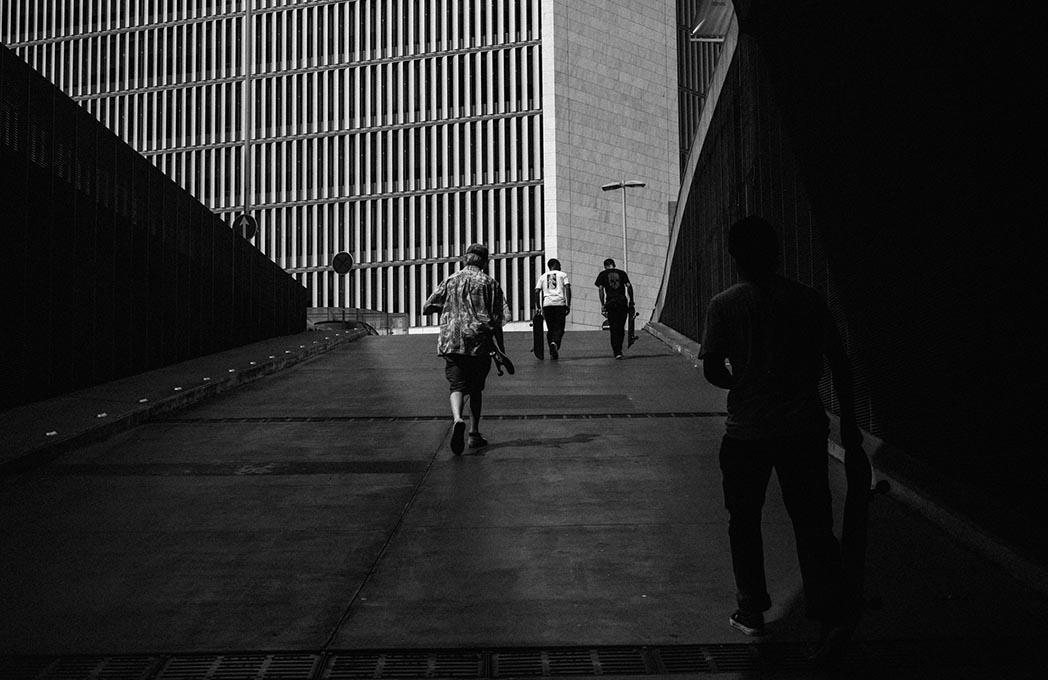 """A subida do parque da Casa da Música, proporciona sempre o mesmo """"feeling"""", e sendo assim, mais uma boa foto."""