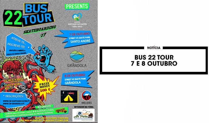 15611BUS 22 Tour|7 e 8 de outubro