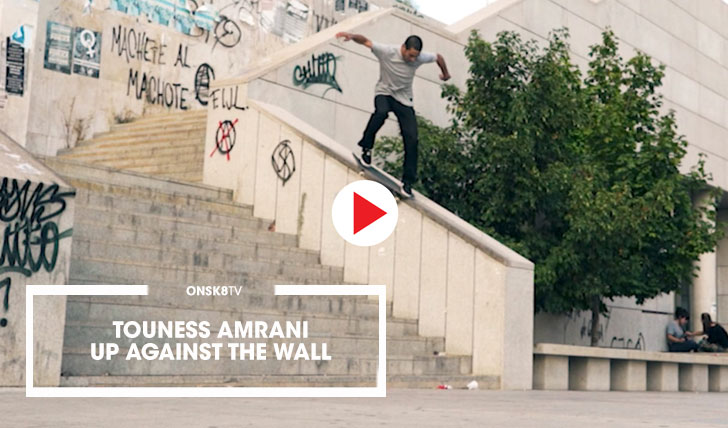 "15699Youness Amrani ""Up Against the Wall""