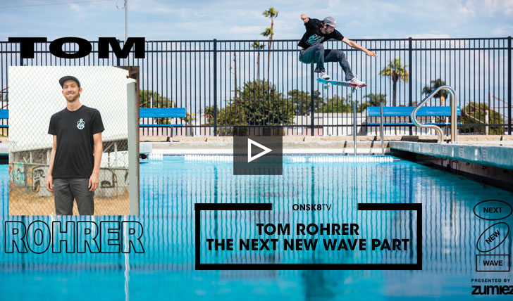 15823TOM ROHRER THE NEXT NEW WAVE PART||