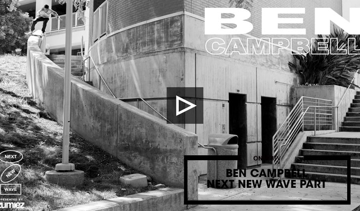 15844BEN CAMPBELL THE NEXT NEW WAVE PART||2:54