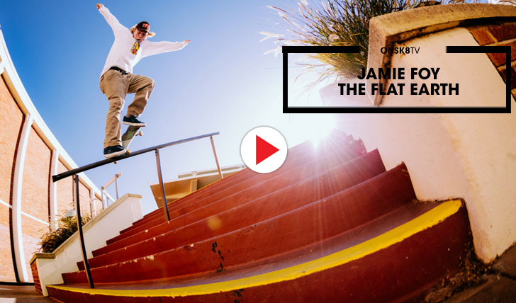 "15867Jamie Foy ""The Flat Earth""