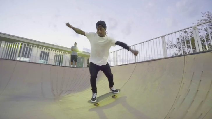"""16320Lil Wayne – """"Sorry For The Sk8"""" 