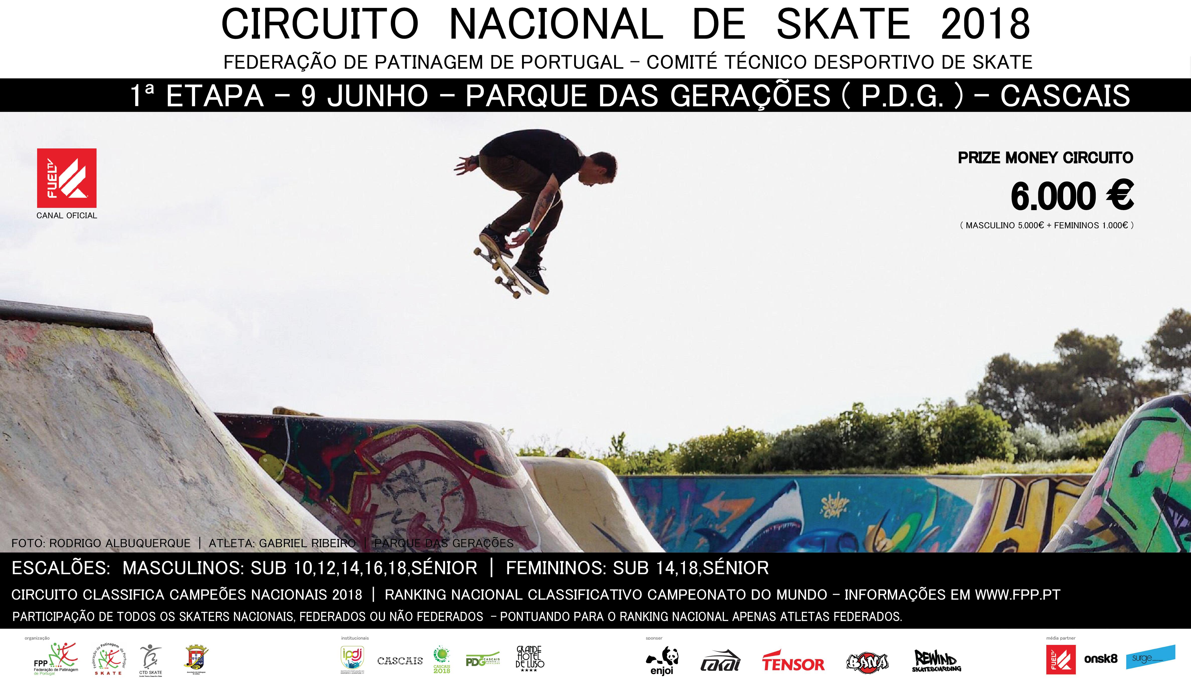 166571ª Etapa Circuito Nacional Skate – FPP||9 de Junho Parque das Gerações