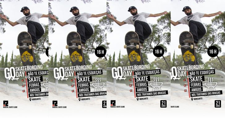 16824GO Skateboarding Day em Lisboa|Skatepark do Monsanto