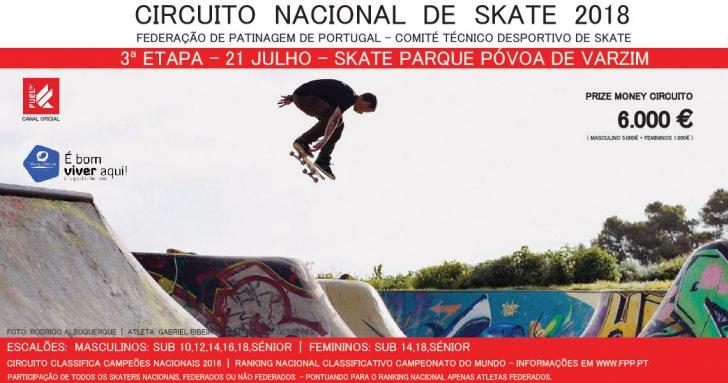 16996Circuito Nacional de Skate 2018|3ª etapa Póvoa de Varzim 21 de Julho
