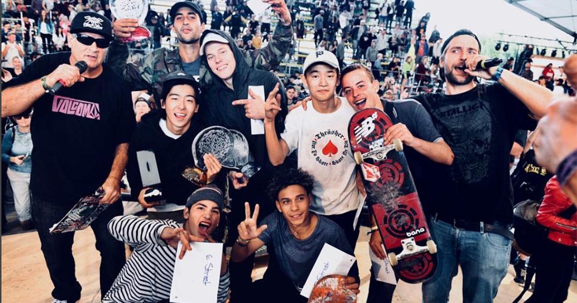 16924Gabriel Ribeiro é 8º classificado no Mystic Skate Cup em Praga