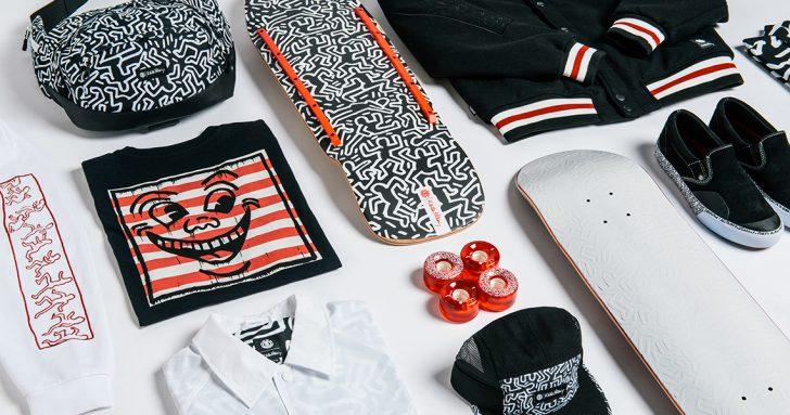 17189A Element apresenta a coleção Keith Haring