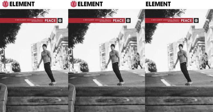 17280A Element apresenta Peace em exclusivo na POP e Kate Skate Shop|13 de Outubro