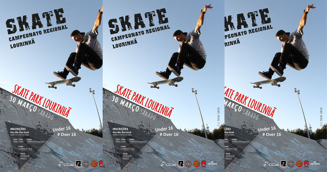 178283º Campeonato Regional de Skate da Lourinhã|30 de Março