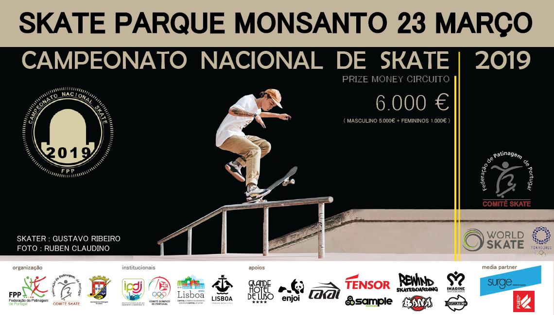 179081ª ETAPA DO CAMPEONATO NACIONAL SKATE|23 de Março Skatepark do Monsanto – Lisboa