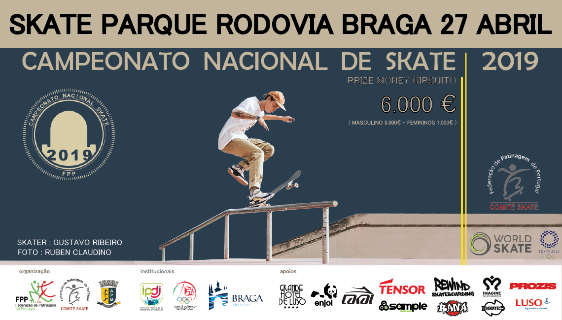 180282ª Etapa Campeonato Nacional de Skate|Braga 27 de Abril