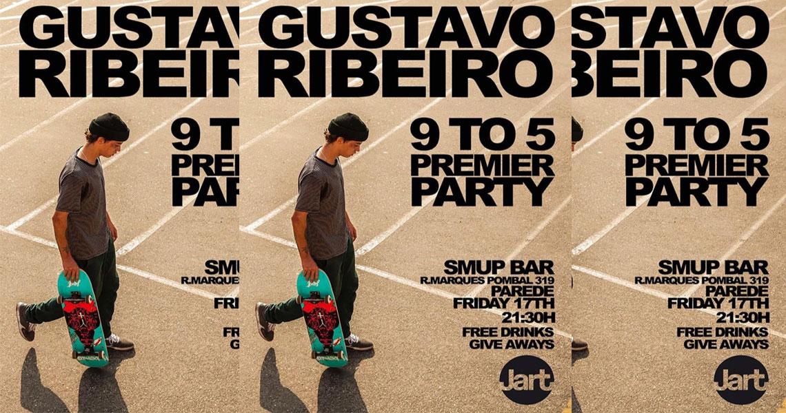 18101Gustavo Ribeiro 9 to 5|Estreia Sexta-feira 17 Smup Bar|Parede