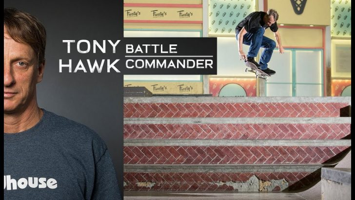 18321THE TONY HAWK BATTLE COMMANDER ||3:33