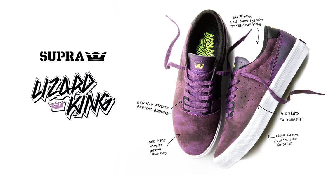 18344Supra apresenta Lizard King Pro Model